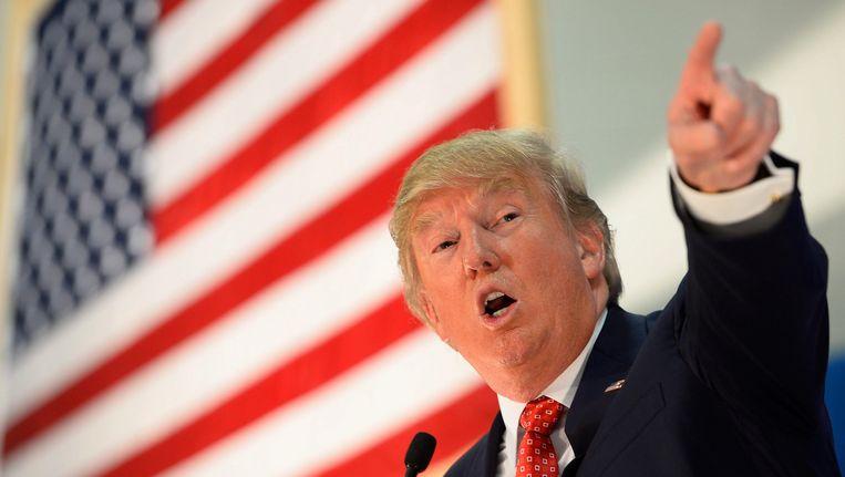 Donald Trump Beeld EPA