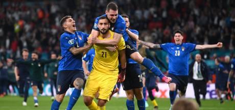 Italiaanse held Donnarumma verklaart koele reactie: 'Wist niet dat het al klaar was'