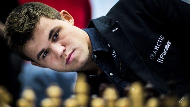 Magnus Carlsen Beeld Freek van den Bergh