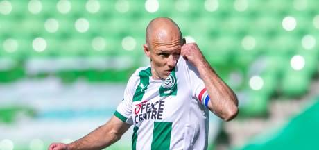 Buijs wil Robben 90 minuten laten spelen: 'Alleen wissel bij 5-0 voorsprong tegen negen man'