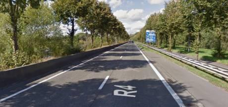 Zwangere vrouw betrokken bij ongeval op R4 Gent
