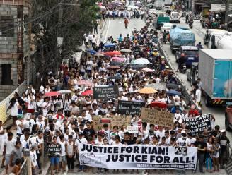 Incident waarbij Filipijnse politie tiener doodschiet leidt tot betoging tegen Duterte
