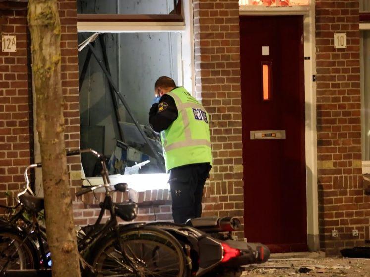 Veel schade na plofkraak geldautomaat in Amsterdam