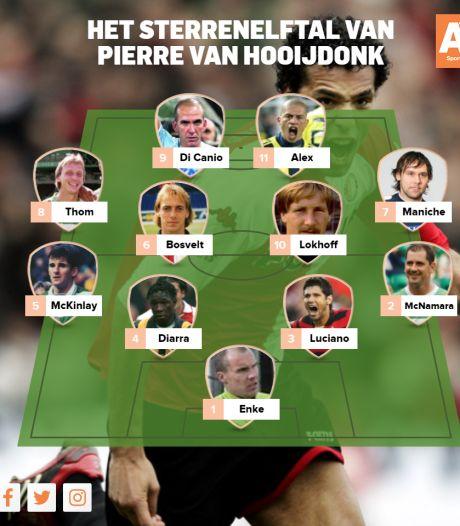 Dit is het sterrenelftal van... Pierre van Hooijdonk