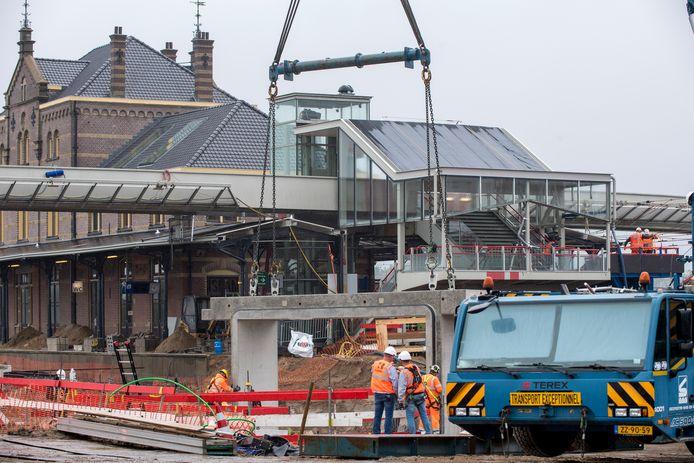 Station Geldermalsen is al tijden een bouwput.