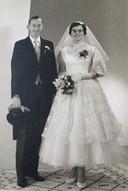 Marinus en Petra Gerrits-Schreurs in 1969.