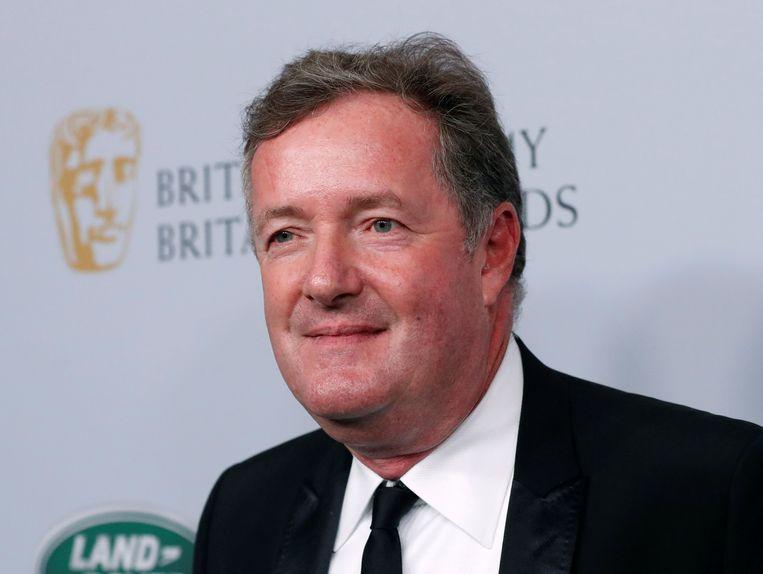Tv-presentator Piers Morgan. Beeld k