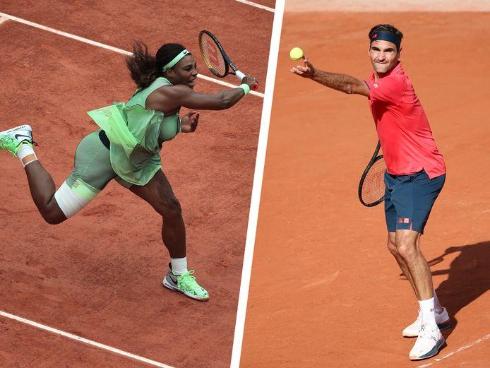 Serena Williams en Roger Federer gaan de strijd aan met de nieuwe generatie.
