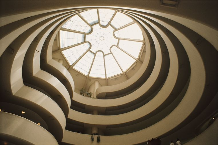 The Solomon R. Guggenheim Museum in Manhattan, New York. Beeld Getty