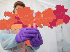 CORONAKAART | Twaalf coronadoden, maar wel kelderende besmettingscijfers in Doesburg, Oost Gelre en Mook