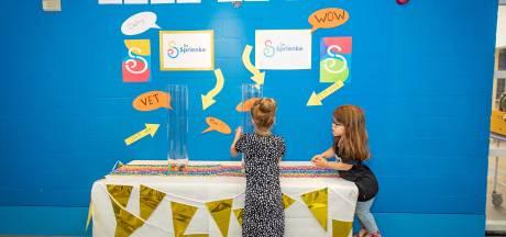 Stemmen met stuiterballen: Kinderen kiezen nieuw logo van De Sprienke in Goes