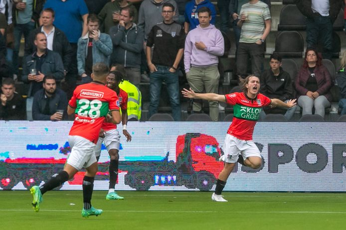 NEC records second win in a row against ten Heracles thanks to Akman's goal  Eredivisie
