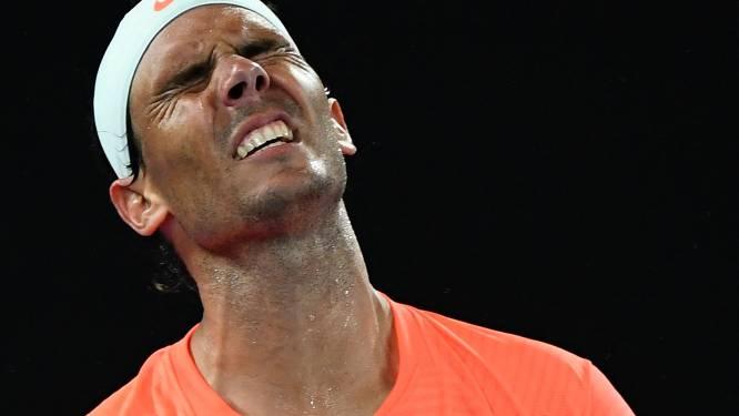 """Nadal out met rugblessure: """"Het is een grote teleurstelling"""""""