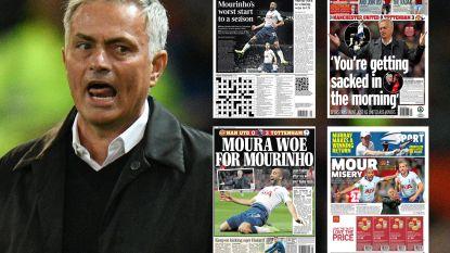 """Britse kranten vernietigend: """"Mourinho, you're not special anymore"""""""