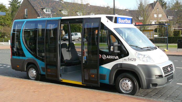 Een buurtbus van Arriva.