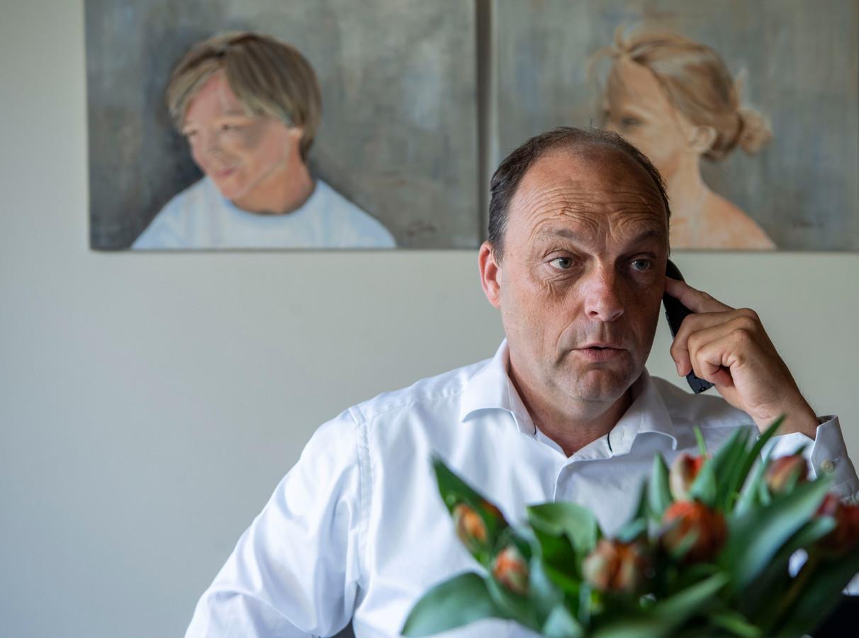 Burgemeester Snijders belde vanmorgen alle Zwollenaren die een onderscheiding hebben gekregen.