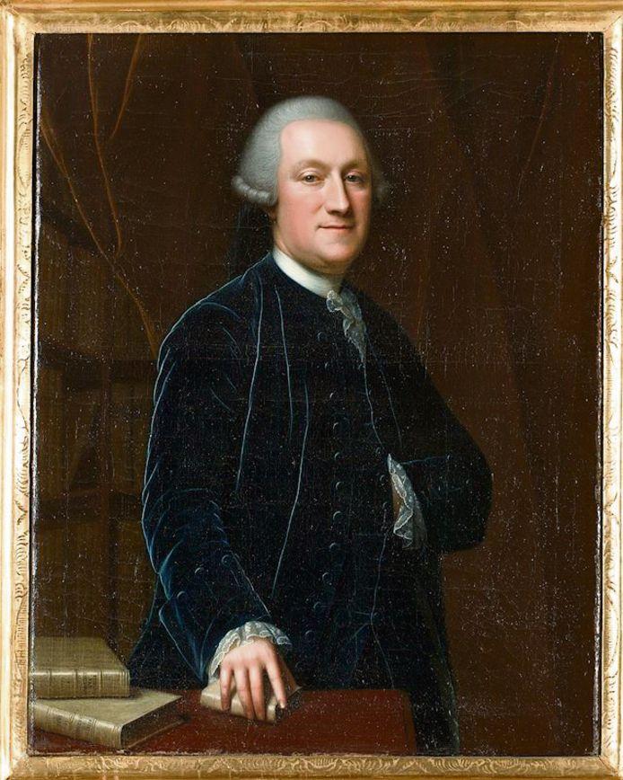 Portret van Johan Steengracht door Jean Appelius omstreeks 1755