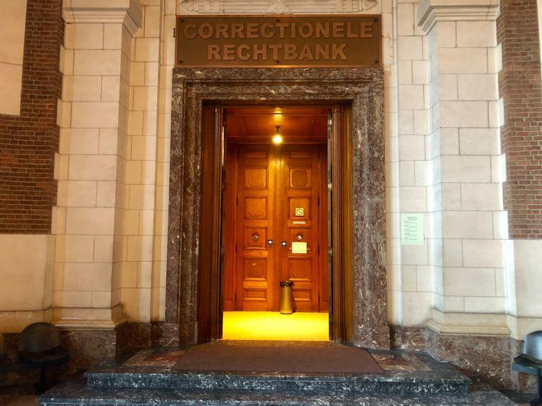 De correctionele rechtbank in Leuven waar de mannen zich moesten verantwoorden.