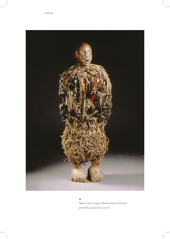 'Nkisi Nkonde' is een van de beelden waarvan zeker is dat het om roofkunst gaat. Beeld Plusj, RMCA Tervuren