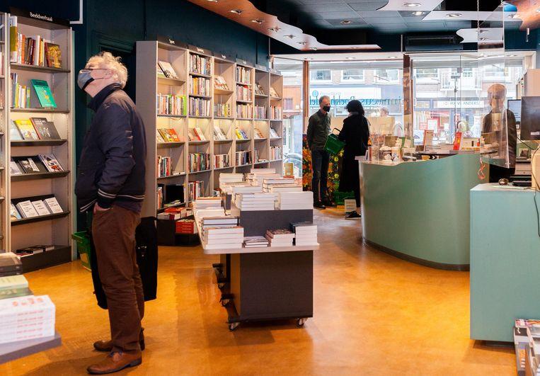 Linnaeus Boekhandel. Beeld Nina Schollaardt