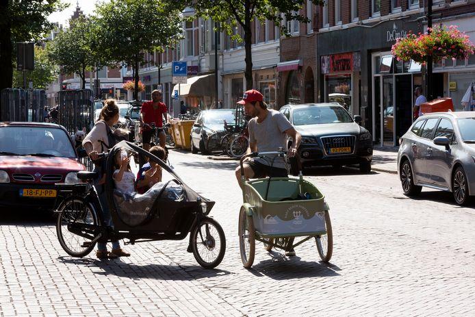 De bakfiets rukt op in de grote steden. Symbool van een veranderende samenstelling van de bevolking aldaar.