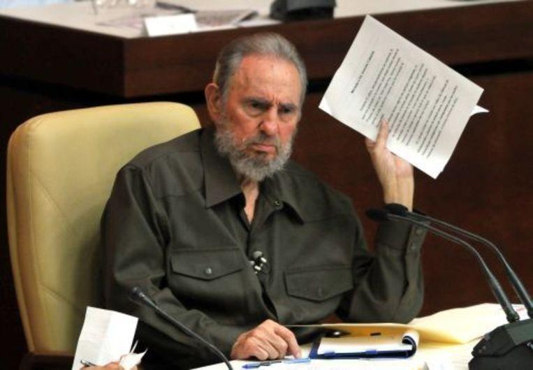 Fidel Castro. ANP Beeld