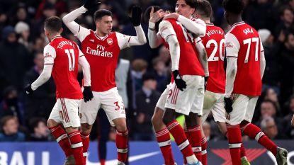 Spektakelrijke derby tussen Chelsea en tienkoppig Arsenal eindigt op gelijkspel