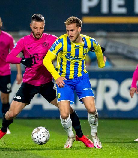RKC-verdediger Meulensteen: 'Als je een wedstrijd zo verliest, kun je alleen maar boos en teleurgesteld zijn'