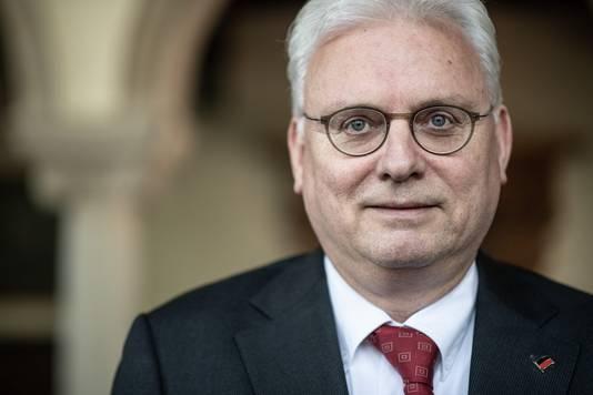 Opgestapte voorzitter Jan Zoetelief van 50Plus.