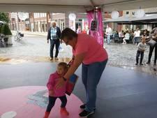 Dansen op vinyl singles uit vervlogen tijden in Rosmalen