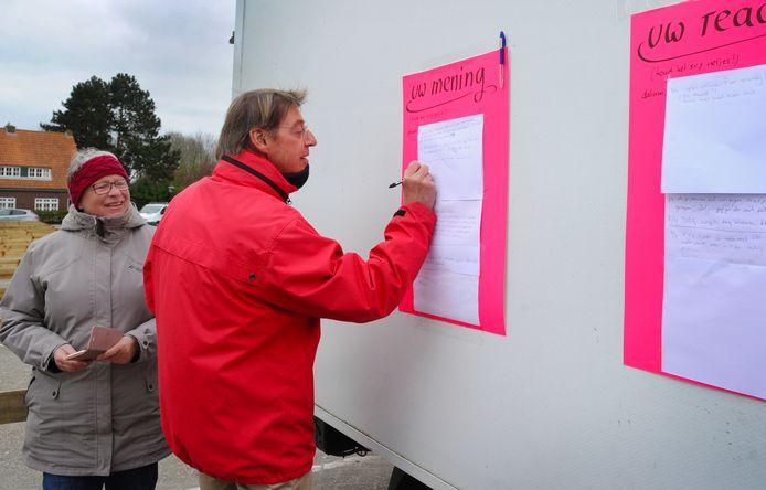 Ook Floris Asselbergs uit Oostkapelle uit zijn ongenoegen over het Veerse parkeerbeleid.