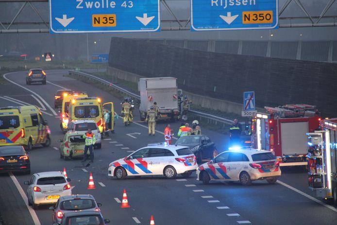 Het ongeval op de A35