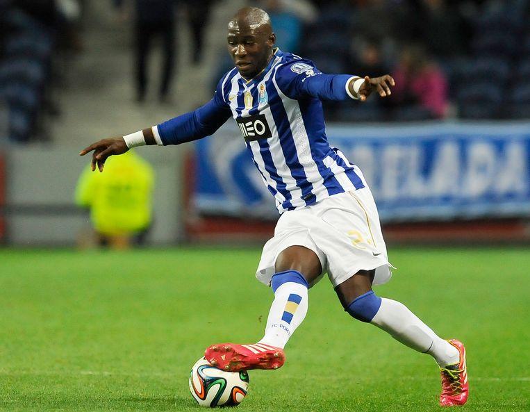 Eliaquim Mangala in het shirt van FC Porto.
