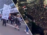Felle protesten tegen lockdown in Australië