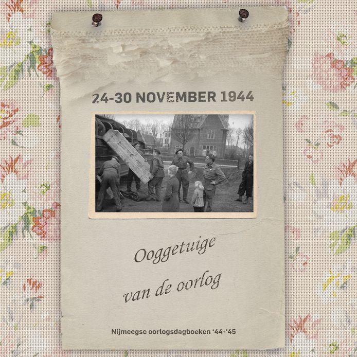 Canadezen op het pleintje kruising Surinameweg en Witsenburgselaan, najaar 1944.