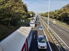 Ongeluk met meerdere auto's op A58 bij Oirschot