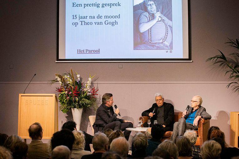 Een prettig gesprek over Theo van Gogh in Spui 25. Beeld Maarten Brante