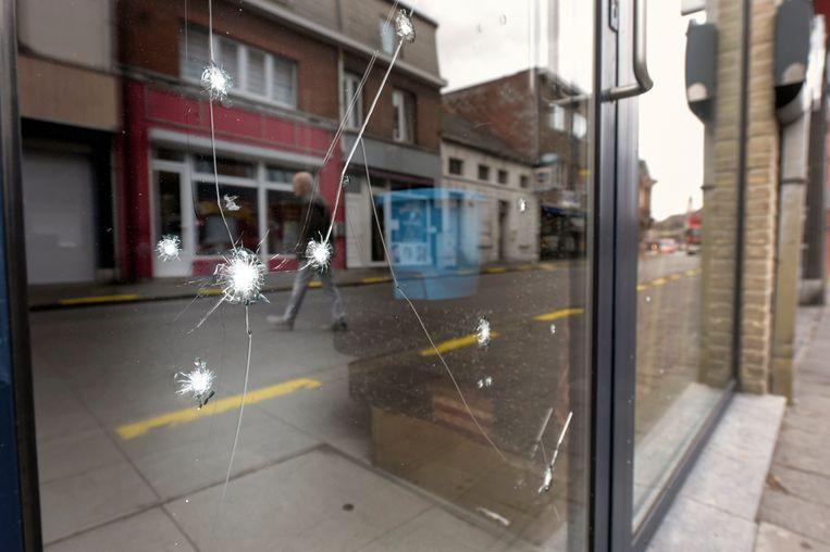 Eerder deze maand ontplofte ook al een granaat in het centrum van Willebroek Beeld Photo News