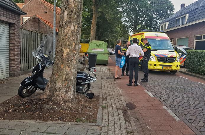Het ongeluk gebeurde in de Sint Jansstraat in Goirle.