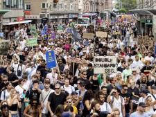 Niet stilstaan en afstand houden, alleen dan mag je demonstreren dit weekend