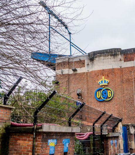 L'Union Saint-Gilloise débute les travaux d'aménagement de son stade pour la D1A