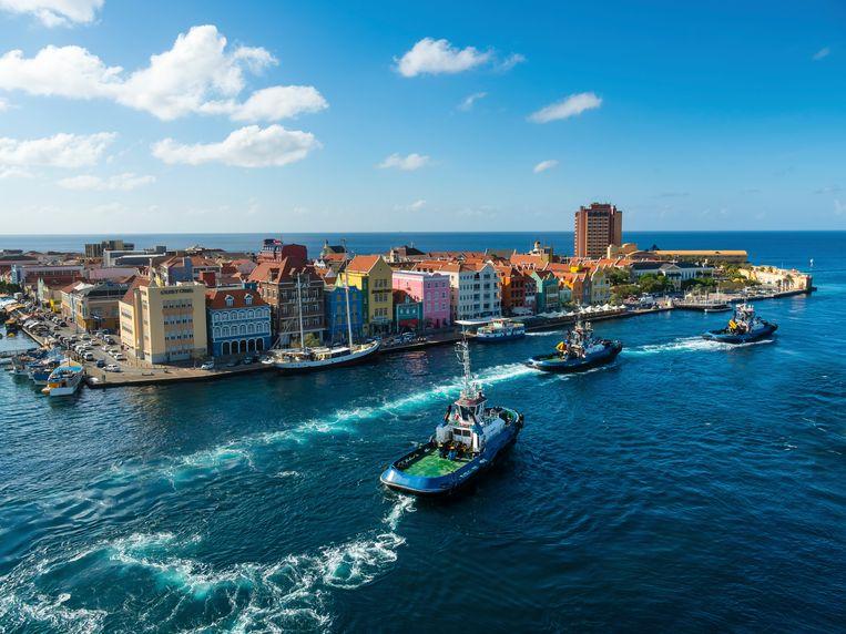 Curaçao heeft al sinds juli een speciaal coronabeleid voor toerisme. Beeld Getty Images/Westend61