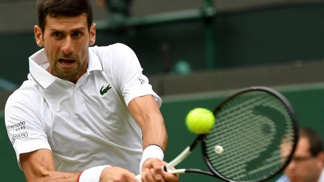 """Djokovic op zijn hoede voor snelheid Goffin: """"Dit wordt een uitdaging"""""""