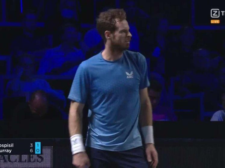 Murray wint van Pospisil op Moselle Open