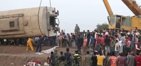 Elf doden en bijna honderd gewonden bij treinongeluk in Egypte