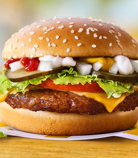 McDonald's komt tijdelijk met burger van planten