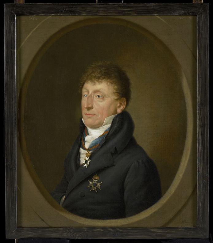 Jacob Hendrik Schorer (1760-1822). Schilderij door Johan Pieter Bourjé, 1818, collectie Zeeuws Museum
