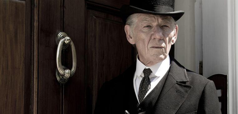 Sir Ian McKellen zet Sherlock Holmes neer als een mens van vlees en bloed. Beeld rv
