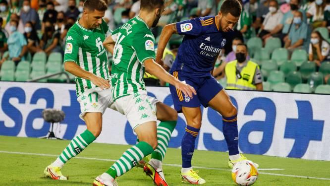 Le Real s'impose au Betis grâce à un but de Carvajal, Hazard monte à la 78e minute