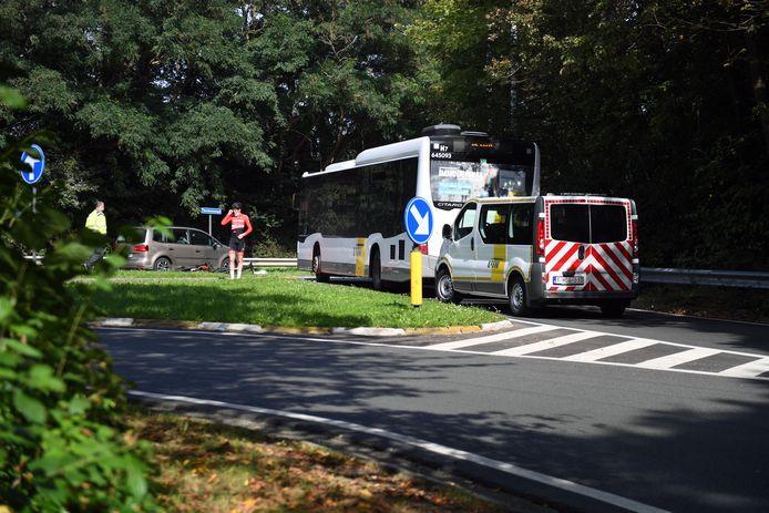 Ongeval met jonge wielrenner op het WK parcours in Leuven